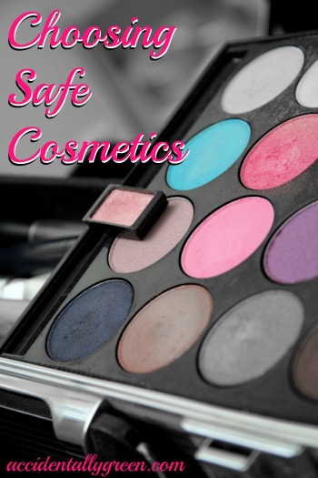 Choosing Safe Cosmetics {Accidentally Green}