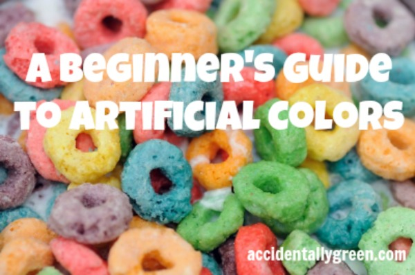A Beginner's Guide to Artificial Colors {Accidentally Green}