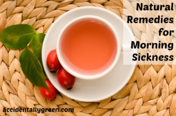 Natural Remedies for Morning Sickness {Accidentally Green}