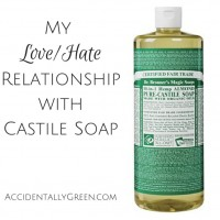 My Love/Hate Relationship with Castile Soap