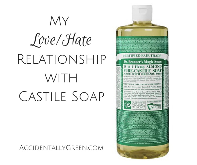 My Love/Hate Relationship with Castile Soap • Accidentally Green