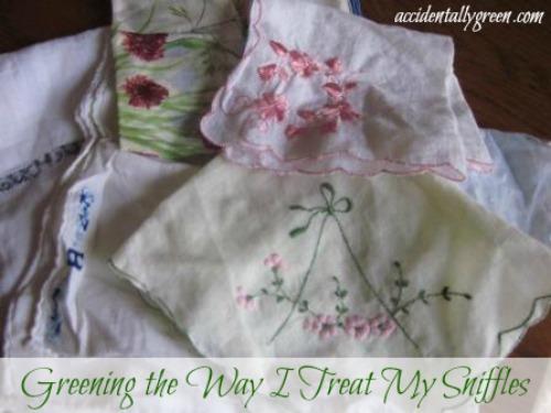 Greening the Way I Treat My Sniffles {Accidentally Green}