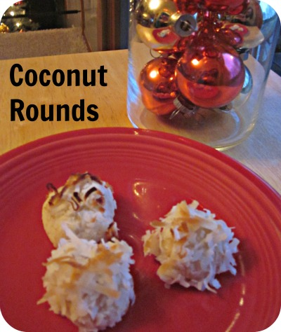 Accidentally Green: Coconut Rounds
