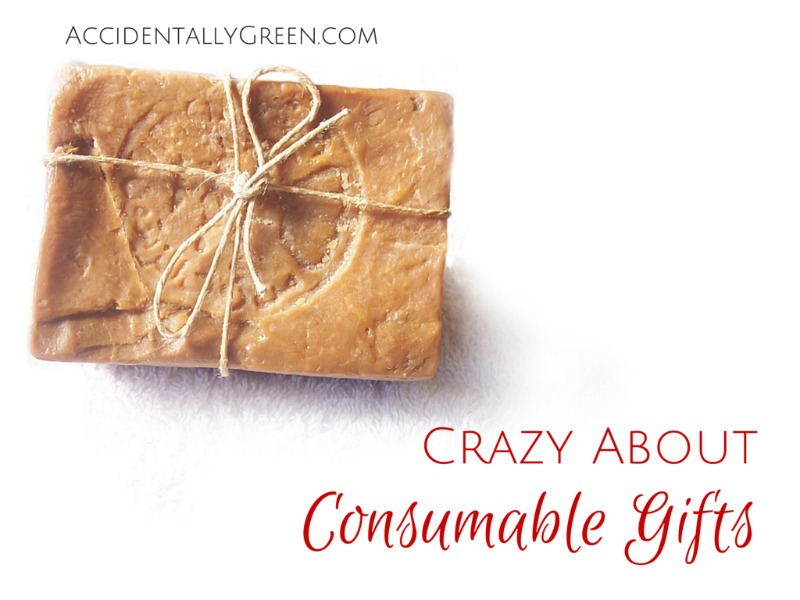This Holiday Season, I'm Crazy About Consumable Gifts {AccidentallyGreen.com}