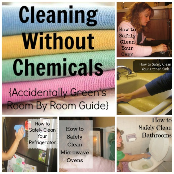 Cleaning Without Chemicals {Accidentally Green's Room By Room Guide}
