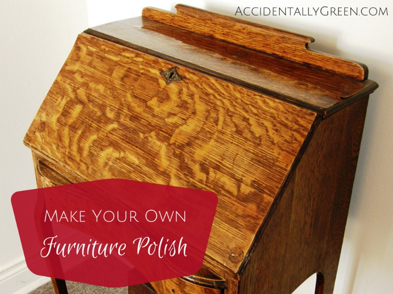 Make Your Own Furniture Polish {AccidentallyGreen.com}