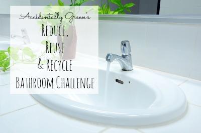Accidentally Green Bathroom Challenge