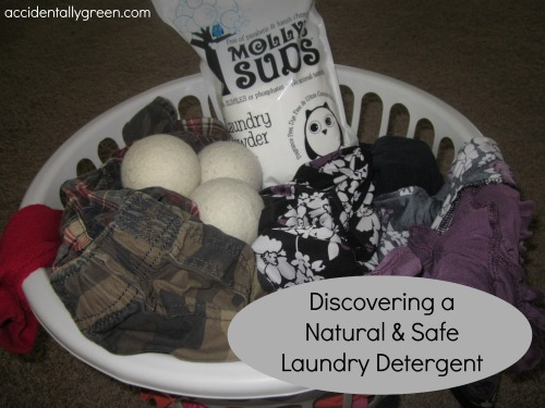 Discovering a Natural and Safe Laundry Detergent