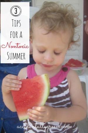 3 Tips for a Nontoxic Summer