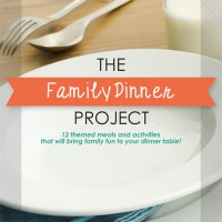 Making Plans to Use My Favorite Bundle Book: The Family Dinner Project