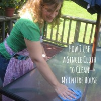 How I Use a Single Cloth to Clean My Entire House