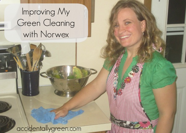 Improving My Green Cleaning with Norwex - Accidentally Green