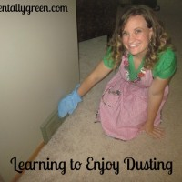 Learning to Enjoy Dusting