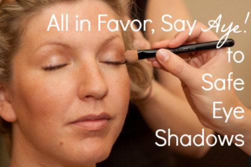 All in Favor, Say Aye to Safe Eye Shadows {Accidentally Green}