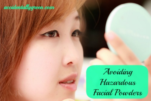 Avoiding Hazardous Facial Powders {Accidentally Green}