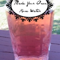Make Your Own Rose Water