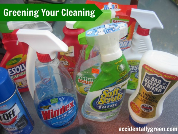 Greening Your Cleaning {Accidentally Green}