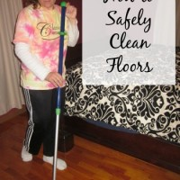 How to Safely Clean Floors