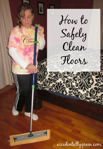 How to Safely Clean Floors {Accidentally Green}