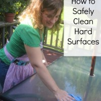 How to Safely Clean Hard Surfaces