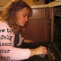 How to Safely Clean Your Oven