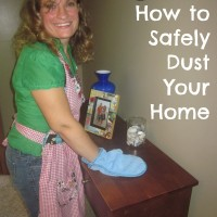 How to Safely Dust Your Home