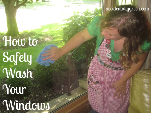 How to Safely Wash Your Windows {Accidentally Green}