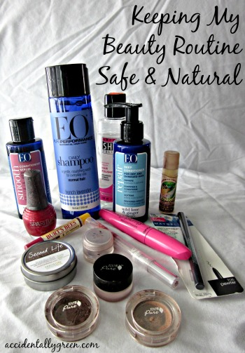 Keeping My Beauty Routine Safe and Natural {Accidentally Green}