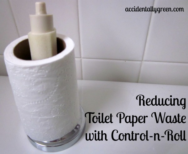 Reducing Toilet Paper Waste with Control-n-Roll {Accidentally Green}