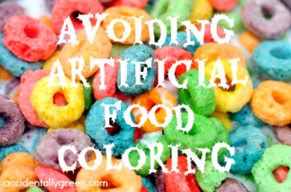 Avoiding Artificial Food Coloring {Accidentally Green}