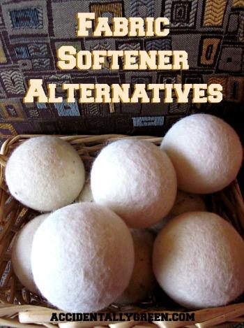 Fabric Softener Alternatives {Accidentally Green}