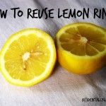 How to Reuse Lemon Rinds