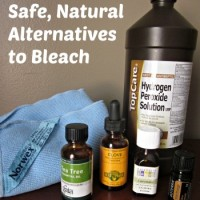 Safe, Natural Alternatives to Bleach {Safe and Simple Monday}
