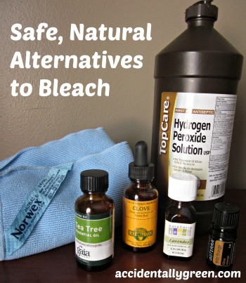 Safe, Natural Alternatives to Bleach {Accidentally Green}