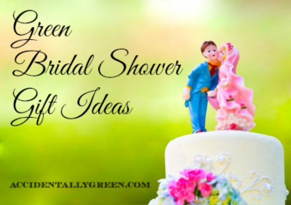 green bridal shower gift ideas