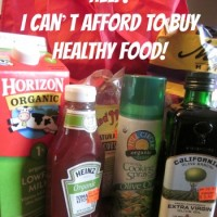 Help! I Can't Afford to Buy Healthy Food!