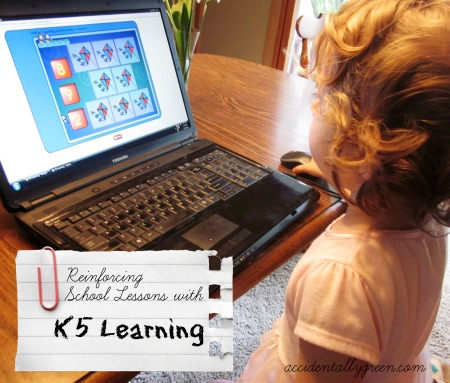 Reinforcing School Lessons with K5 Learning