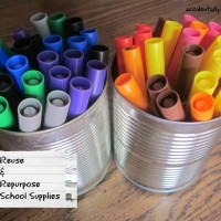 Reuse and Repurpose School Supplies