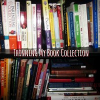 Thinning My Book Collection