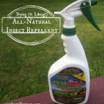 Trying (& Liking!) All-Natural Insecticide + a Giveaway