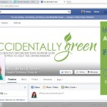 You're invited to Accidentally Green's Facebook Party!