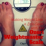 Making Weight Loss a Little Easier with the Ozeri Weightmaster Scale {accidentallygreen.com}