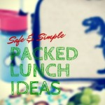 Safe and Simple Packed Lunch Ideas {accidentallygreen.com}