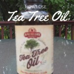 How I Use Tea Tree Oil {+ Giveaway!}