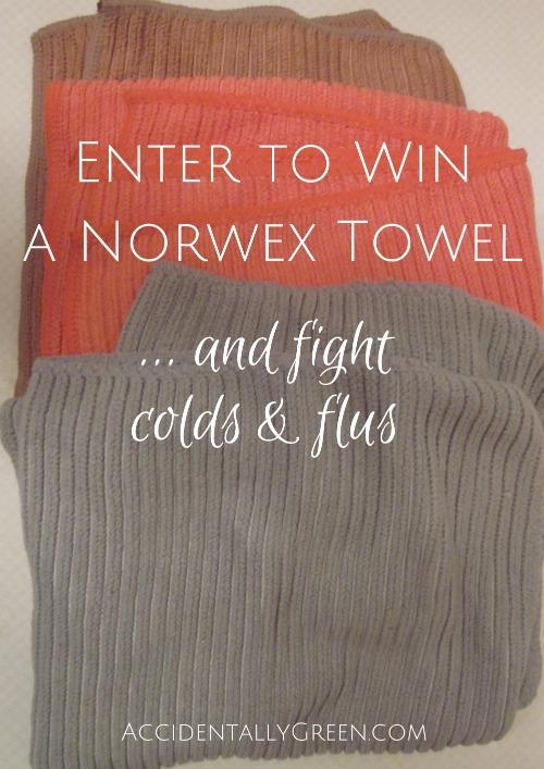 Enter to Win a Norwex Towel {AccidentallyGreen.com}