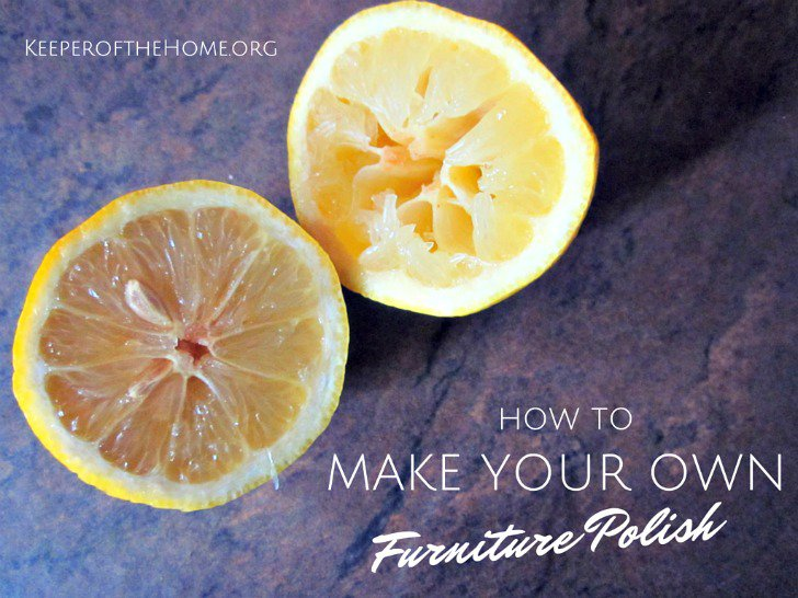 How to Make Your Own Furniture Polish