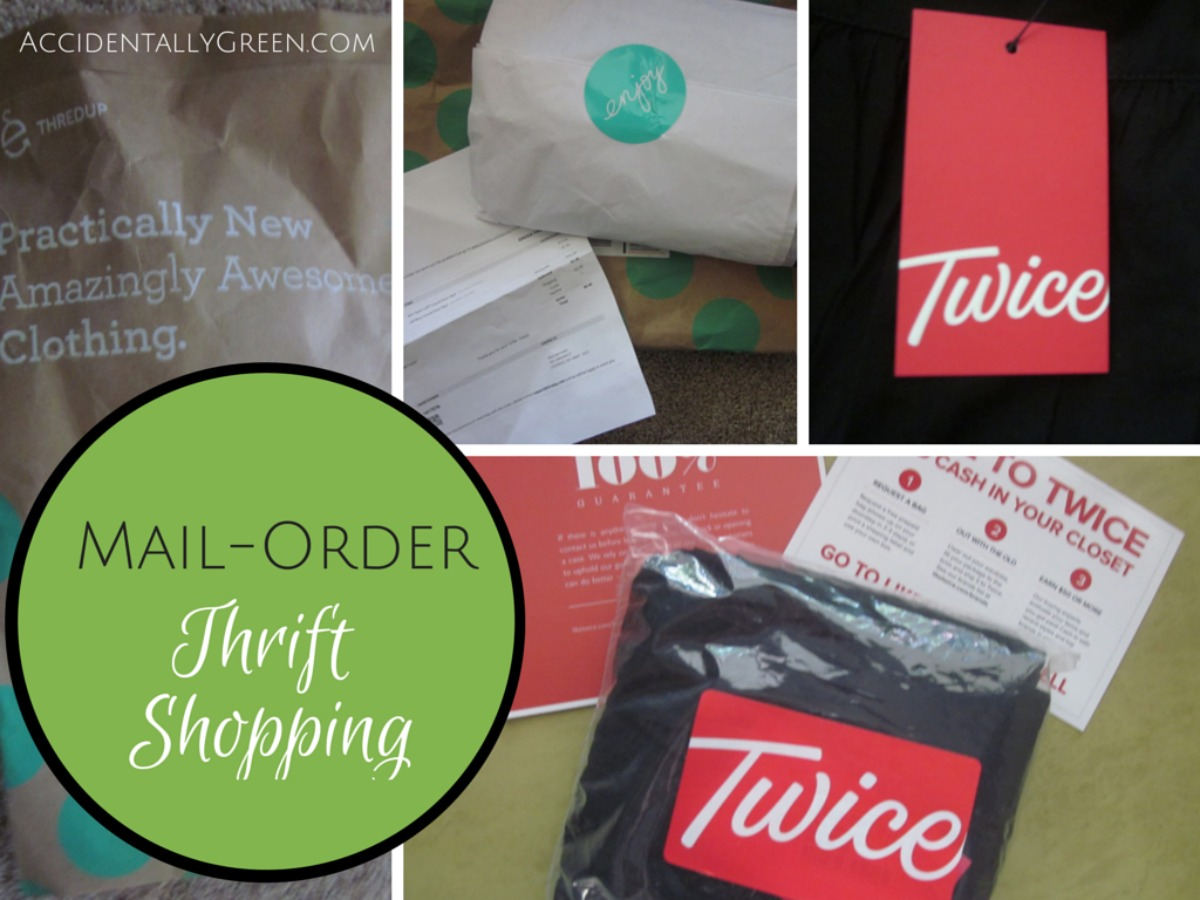 Mail-Order Thrift Shopping {with ThredUP and Twice}
