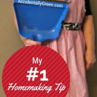 My #1 Homemaking Tip