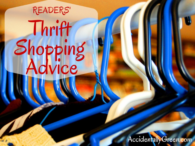 Readers' Thrift Shopping Advice