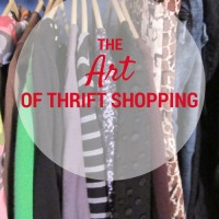 The Art of Thrift Shopping